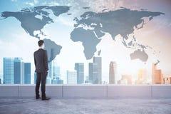 Conceito internacional do negócio e da pesquisa fotos de stock
