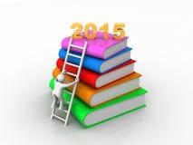 Conceito justo da educação pelo ano 2015 ilustração royalty free