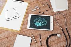 Conceito médico das inovações Fotos de Stock