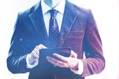 Conceito móvel do dispositivo da rede Imagens de Stock