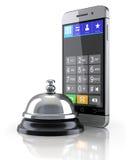 Conceito móvel do serviço Imagens de Stock Royalty Free