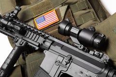Conceito militar. Imagens de Stock