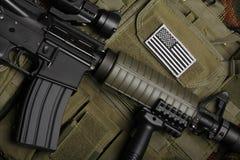 Conceito militar. Ainda vida. Fotos de Stock