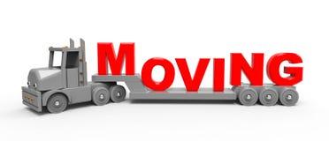 Conceito movente do transporte Fotos de Stock Royalty Free
