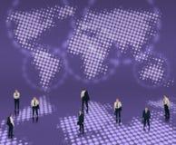 Conceito mundial do negócio Imagem de Stock Royalty Free