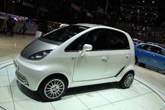 Conceito Nano de Tata EV imagem de stock