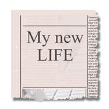 Conceito novo da vida Imagem de Stock
