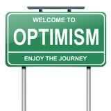 Conceito optimista. ilustração royalty free