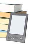 Conceito para livros eletrônicos da leitura Fotos de Stock Royalty Free