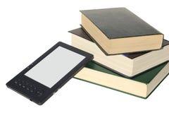 Conceito para livros eletrônicos da leitura Fotografia de Stock Royalty Free