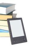 Conceito para livros eletrônicos da leitura Imagens de Stock