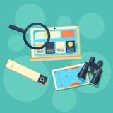 Conceito para a optimização do Search Engine Fotografia de Stock Royalty Free