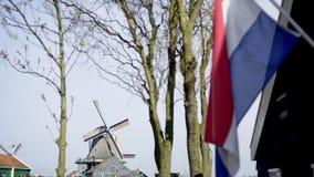 Conceito patriótico da Holanda video estoque