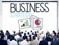 Conceito planeando da realização do objetivo da estratégia empresarial fotografia de stock