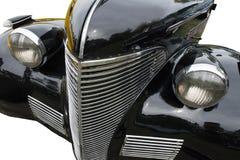 Conceito retro do veículo do carro clássico do vintage isolado Imagens de Stock