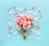Conceito romântico do cartão da celebração Fotografia de Stock