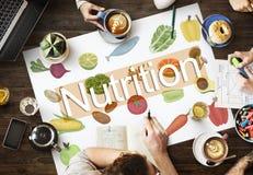 Conceito saudável da vida da dieta de alimento da nutrição foto de stock