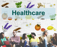 Conceito saudável das vitaminas do tratamento dos cuidados médicos Imagem de Stock Royalty Free