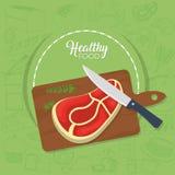 Conceito saudável do alimento Imagens de Stock Royalty Free