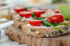 conceito saudável do pequeno almoço Comer saudável foto de stock royalty free
