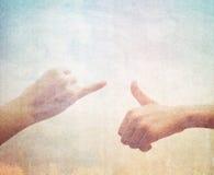 Conceito sobre a amizade Foto de Stock Royalty Free
