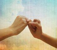 Conceito sobre a amizade Imagem de Stock