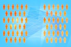 Conceito social da coligação Imagem de Stock Royalty Free
