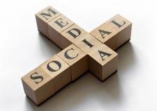 Conceito social dos media Fotografia de Stock Royalty Free