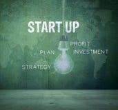 Conceito Start-Up Fotografia de Stock Royalty Free