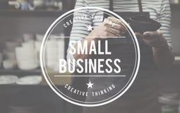 Conceito Startup da posse do produto do nicho de mercado da empresa de pequeno porte fotografia de stock royalty free