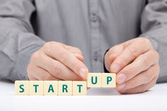 Conceito Startup do negócio Foto de Stock