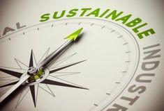 Conceito sustentável - negócio da sustentabilidade Imagem de Stock Royalty Free