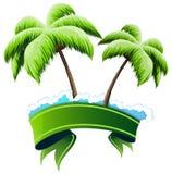 Conceito tropical do recurso Fotos de Stock Royalty Free
