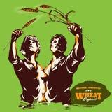 Conceito verde criativo do cartaz do protesto de Eco ilustração royalty free