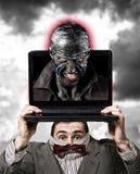 Conceito virtual da personalidade Imagem de Stock Royalty Free