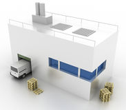 Conceitos da indústria da logística Imagens de Stock