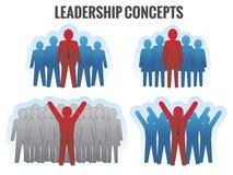 Conceitos da liderança. Imagens de Stock Royalty Free