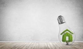 Conceitos da reciclagem da ecologia e da construção do eco Fotografia de Stock