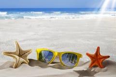 Conceitos das férias de verão, Foto de Stock Royalty Free