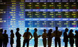 Conceitos de troca do mercado de bolsa de valores foto de stock royalty free