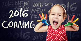 2016 conceitos de vinda Foto de Stock