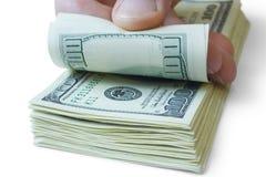 Conceitos do dinheiro imagens de stock