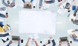 Conceitos do grupo de pessoas e do negócio imagem de stock
