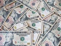Conceitos do negócio, fundo, investimento da finança e troca de dinheiro: Dinheiro americano do dólar pronto para investir em tod fotos de stock