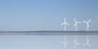 Conceitos do uso eficaz da energia Foto de Stock