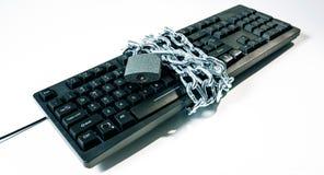 Conceitos novos da segurança do cyber da proteção do vírus de computador Imagens de Stock