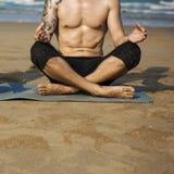 Concentração Serene Relaxation calmo da meditação da ioga fotografia de stock royalty free