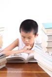 Concentraat bij de lezing Stock Afbeeldingen