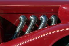 Concentración de los coches 3 de la vendimia Fotografía de archivo
