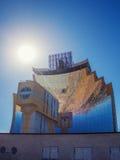 Concentrador de la luz del sol Fotos de archivo libres de regalías